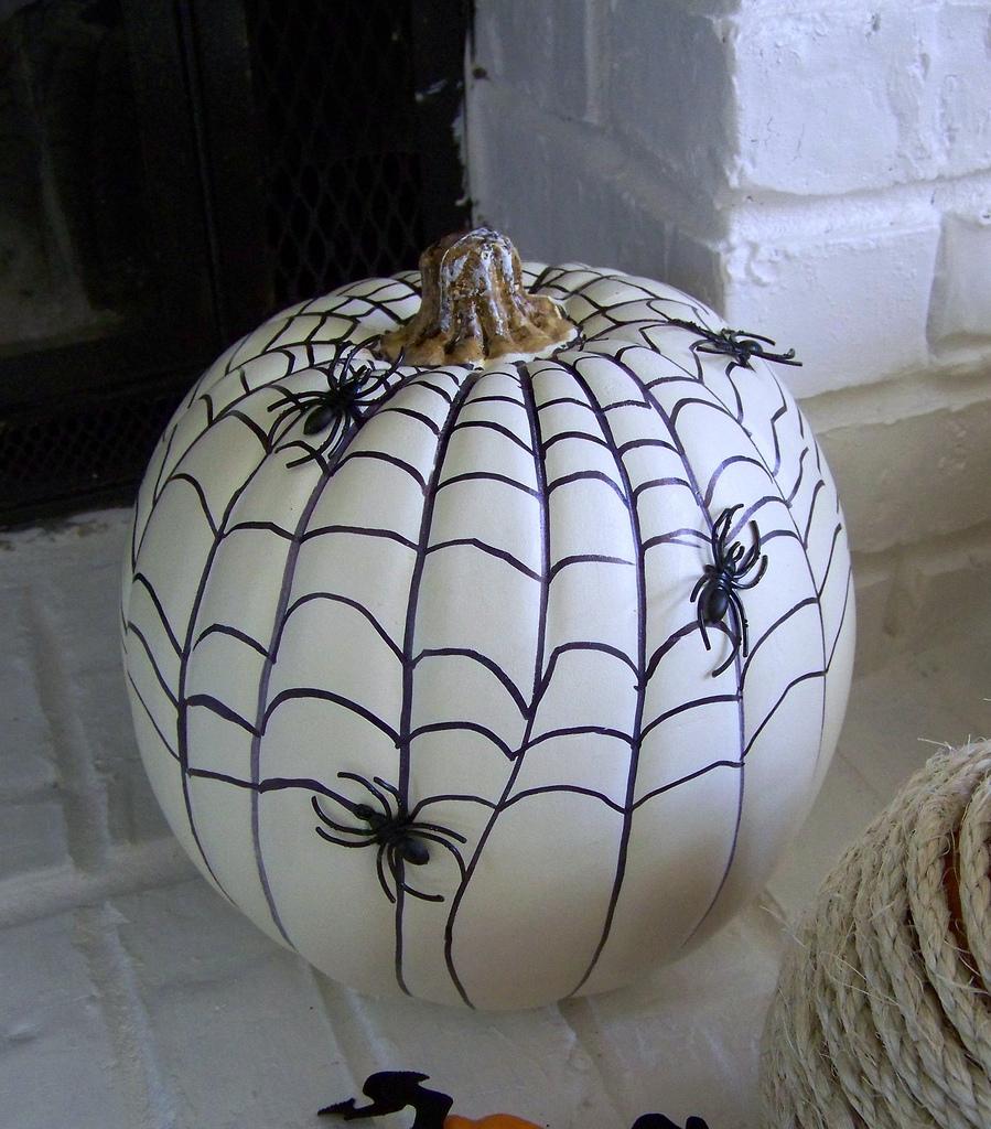 Spider Webs Pumpkin