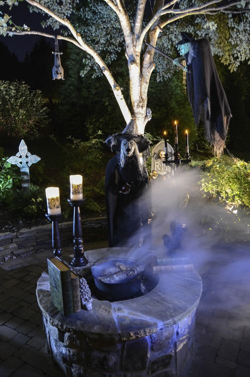 Witch Fire Pit Cauldron