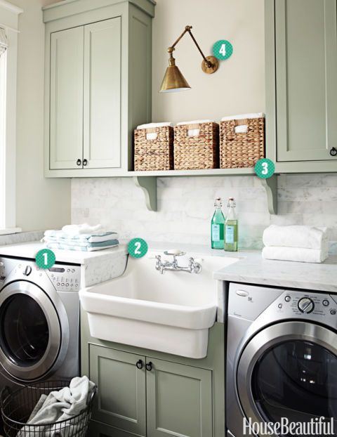 4 Elements of a Perfect Laundry Room