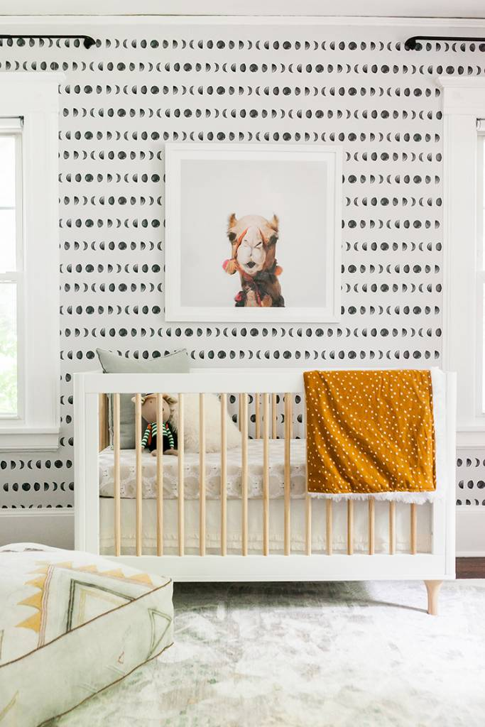 A Moroccan Inspired Neutral Nursery