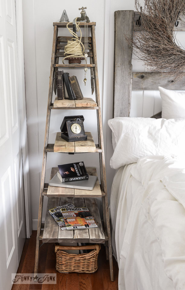 A Stepladder Side Table
