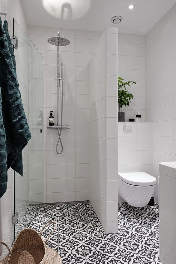 All White Tile Prettiness