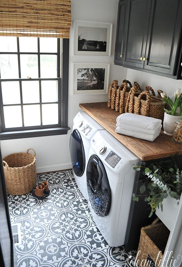 Beautiful And Functional Laundry Room