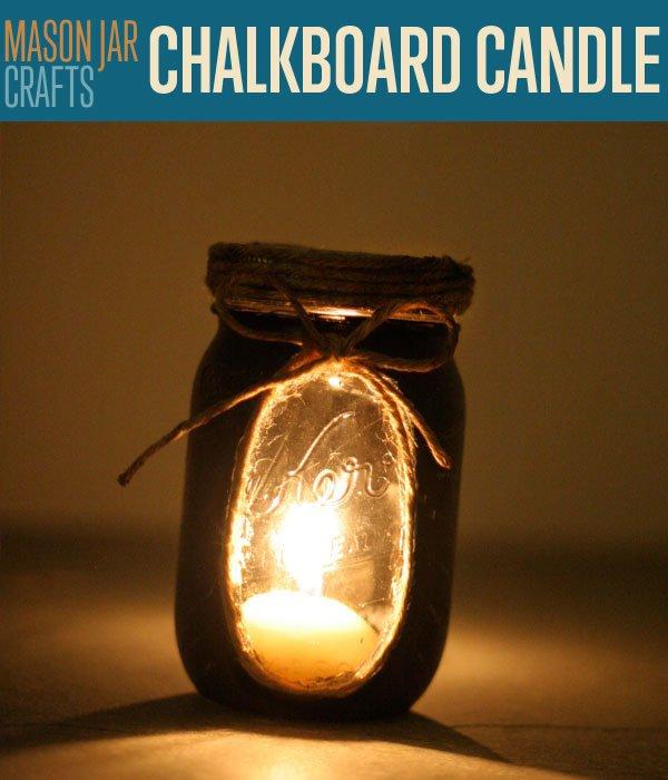 Chalkboard Candle Lights