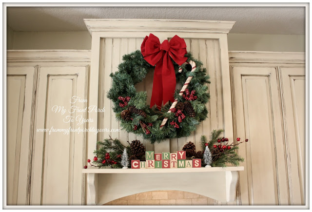 Christmas Kitchen Cabinet