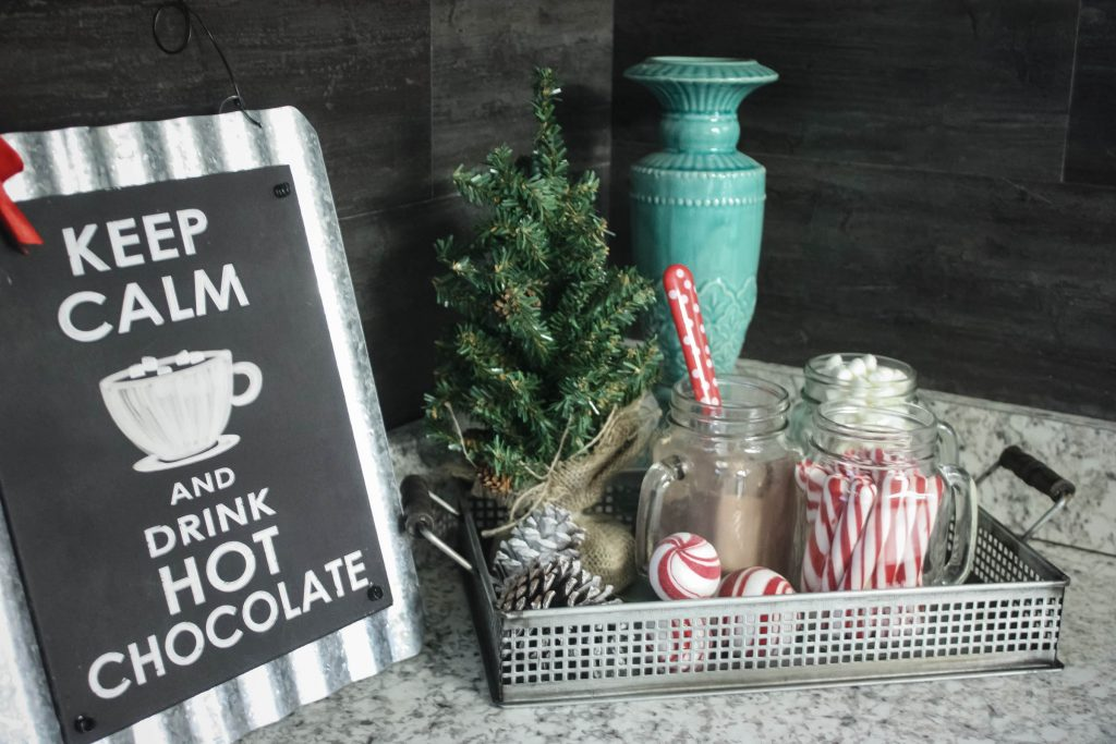 Dollar Tree Hot Cocoa Bar