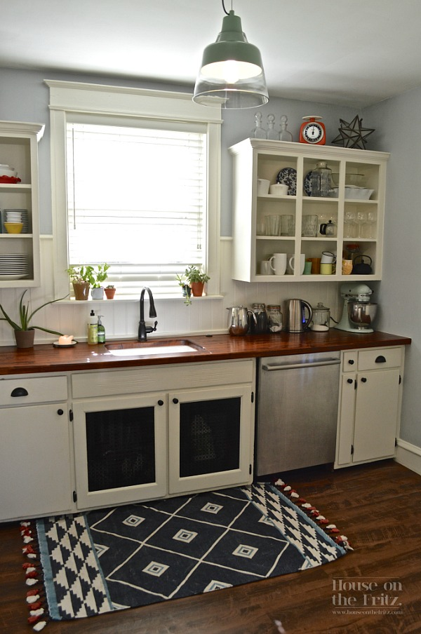 Endearing Kitchen Cabinets with a Touch of Cottage
