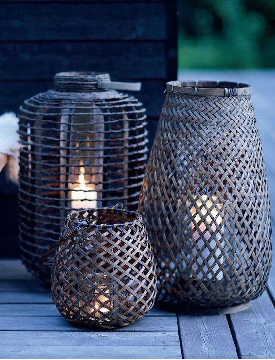 From Baskets to Lanterns