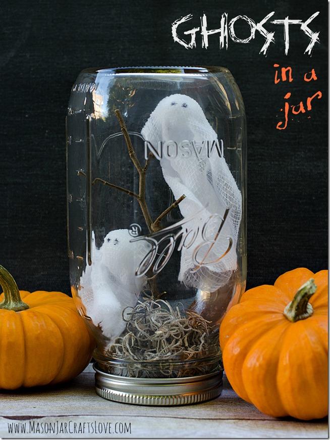 Ghosts in a Jar Globe