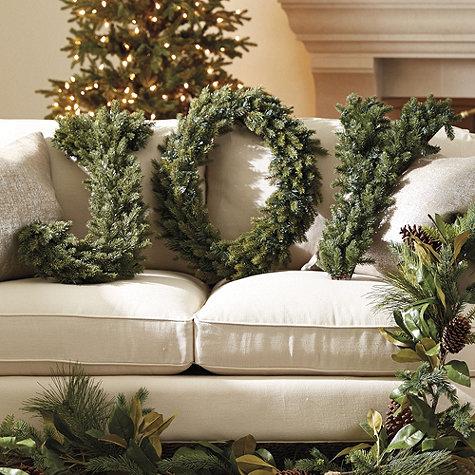 Joy Sign Wreath