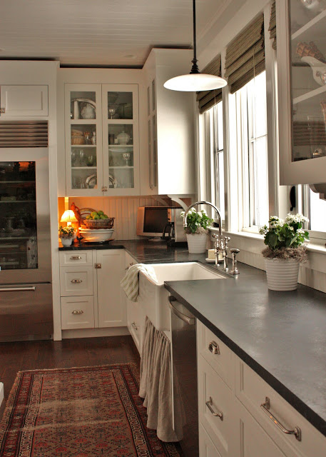 Kitchen Cabinet with Antique Pulls