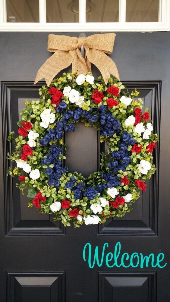 Lush Floral Wreath