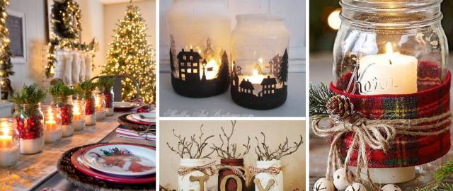 25 Mason Jar Christmas Decor Ideas That Are Another Word For Enchanting