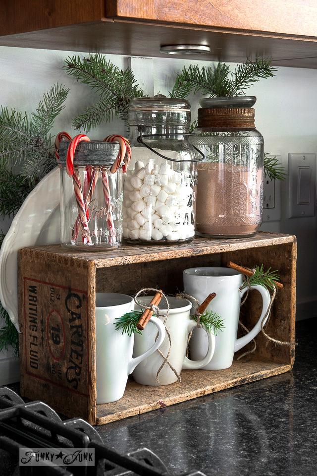 Repurposed Christmas Decoration