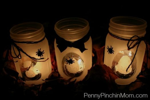 Spooky 'BOO' Mason Jar
