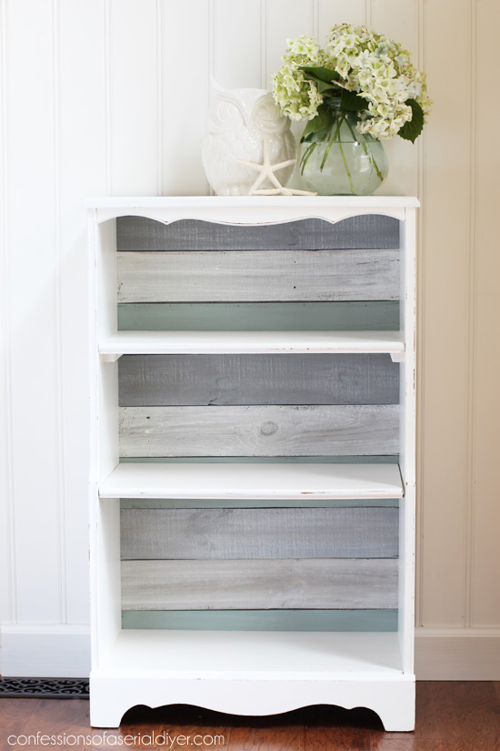 White Tones Compliment the Shelf