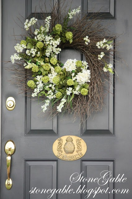 Wreath for The Perfect First Impression