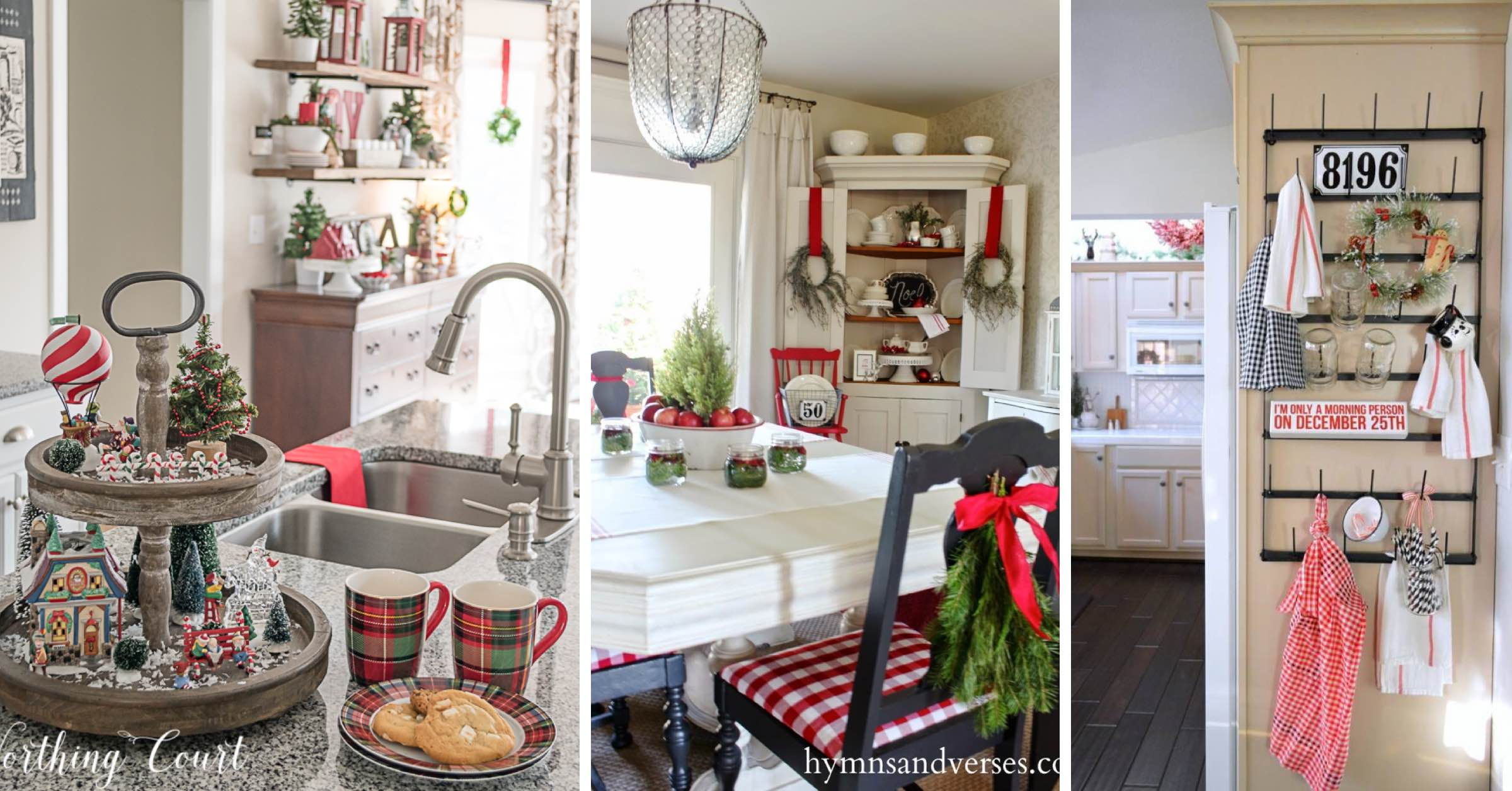 24 Kitchen Christmas Decor Ideas That Are All About Festive