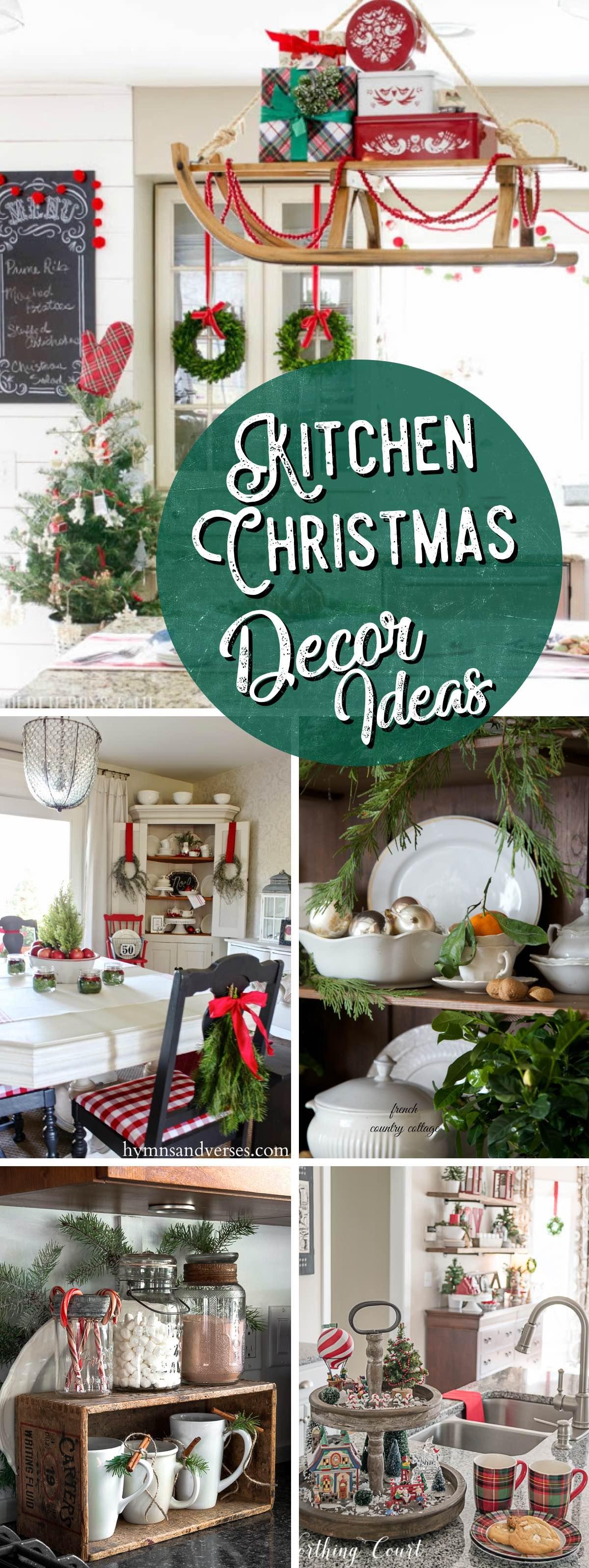 best Kitchen Christmas Decor Ideas