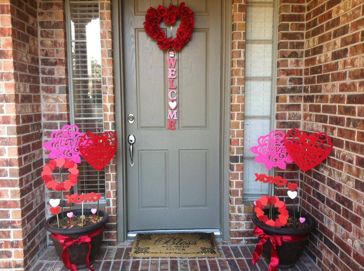 Unique Valentine's Theme Planters