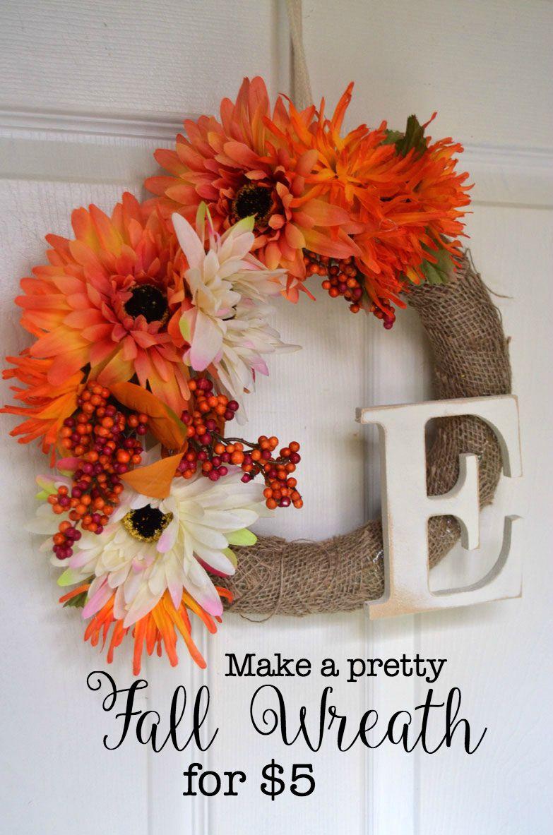 Adorning Fall Wreath