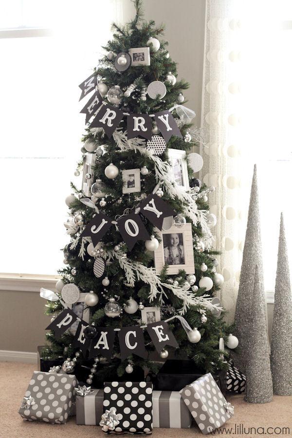 Festive Banner Tree