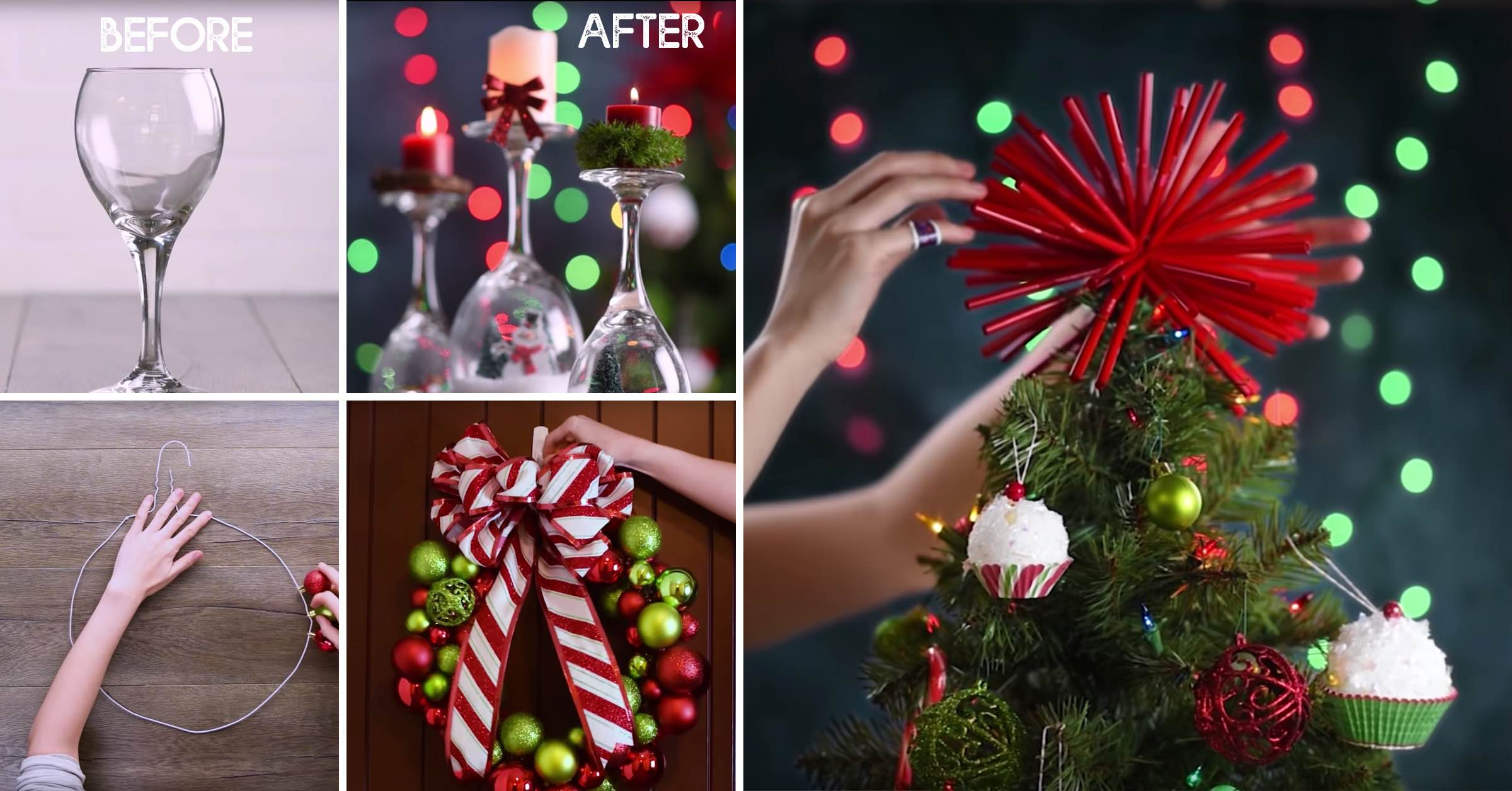 Last Minute DIY Christmas Decoration Ideas