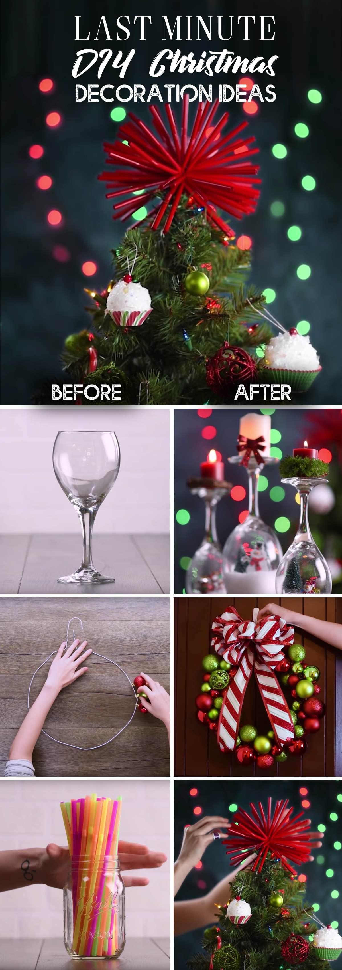 Diy Ideas For Christmas Decor