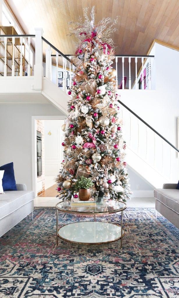 Savannah's Pink Christmas Tree