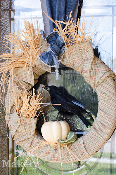 Scarecrow Fall Wreath