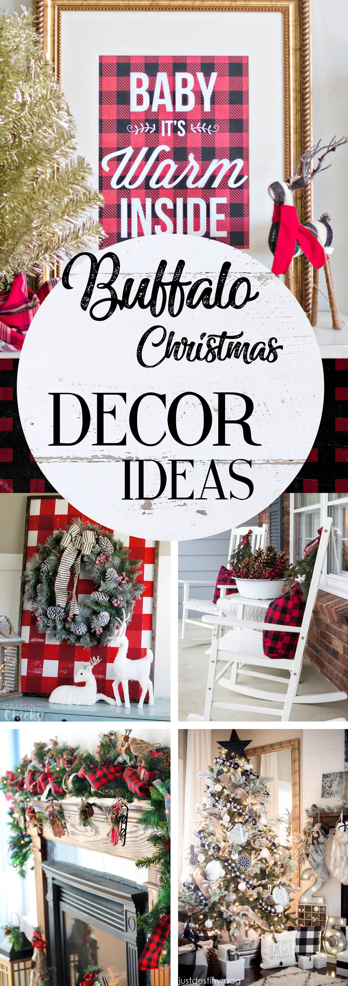 Stunning Buffalo Christmas Decor Ideas