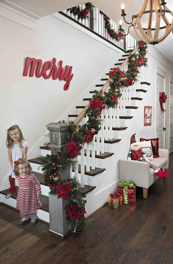 The Merry and Bright Staircase