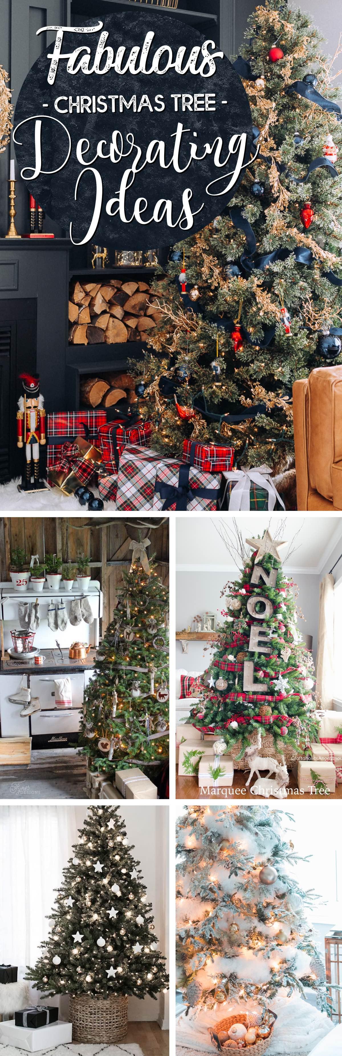 best Fabulous Christmas Tree Decorating Ideas