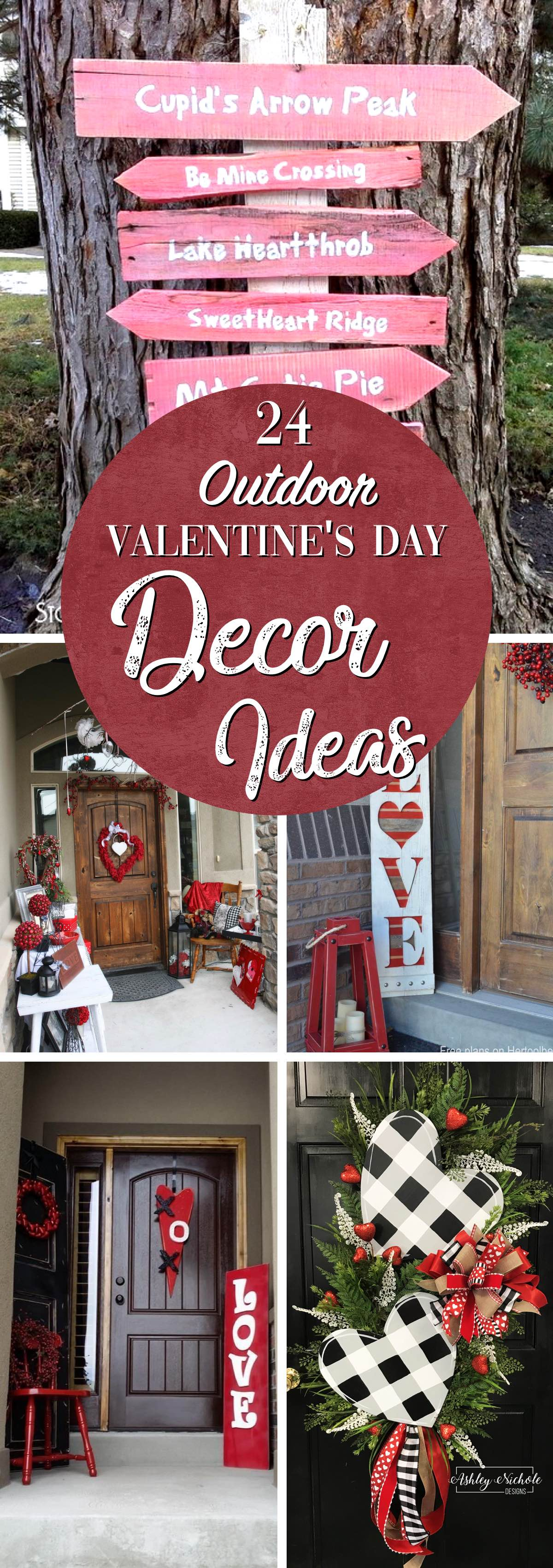 Outdoor Valentines Day Decor Ideas