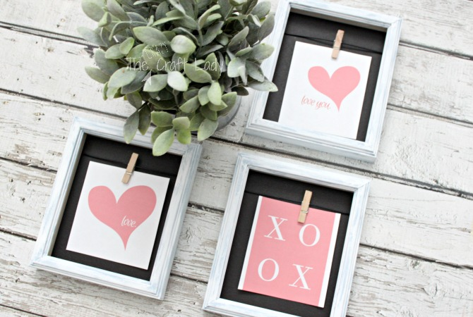 Updating Cheap Picture Frames