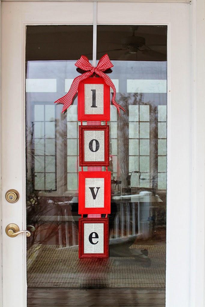 $15 Valentine's Day Door Hanger