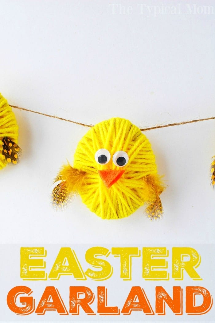 A Chick Easter Garland