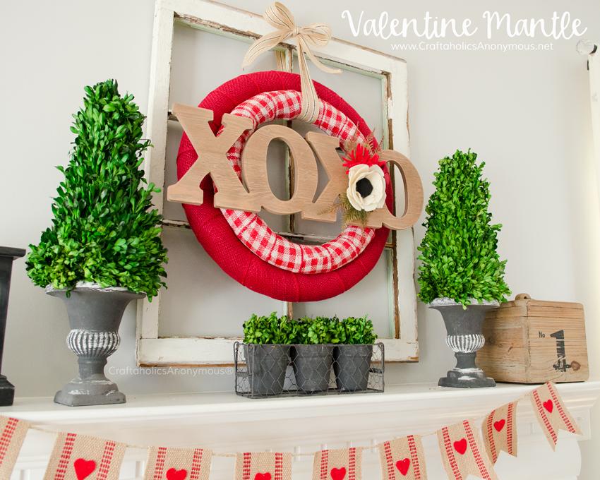 DIY Double Valentines Wreath Tutorial