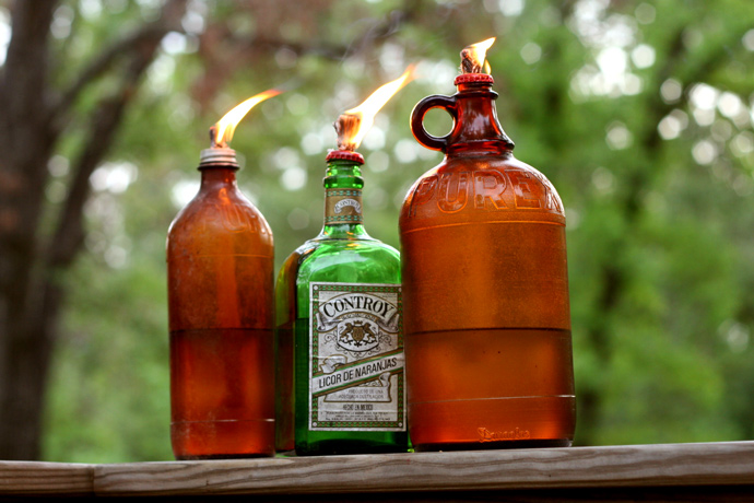 DIY Mosquito Repellent Lanterns