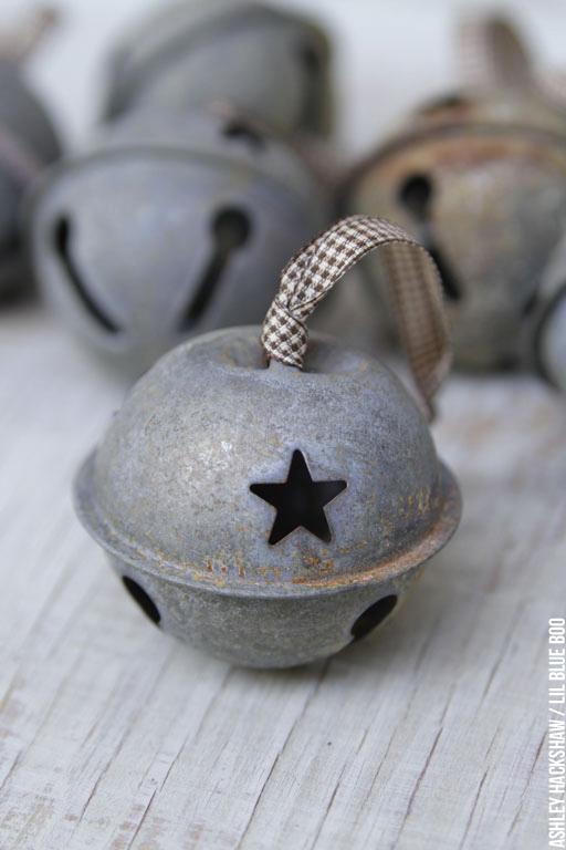 DIY Rustic Jingle Bells