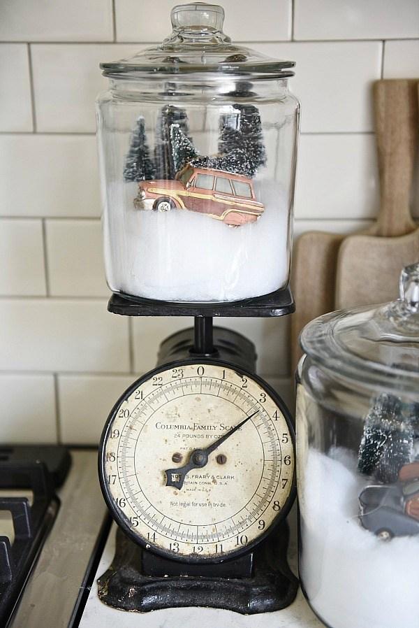 DIY Snow Globe Jars