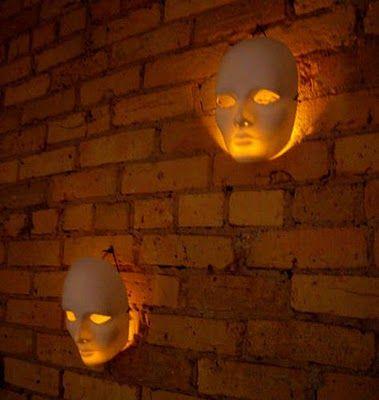Eerie Light Masks