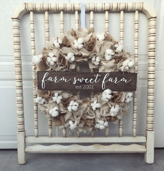 Farm Sweet Farm Wreath