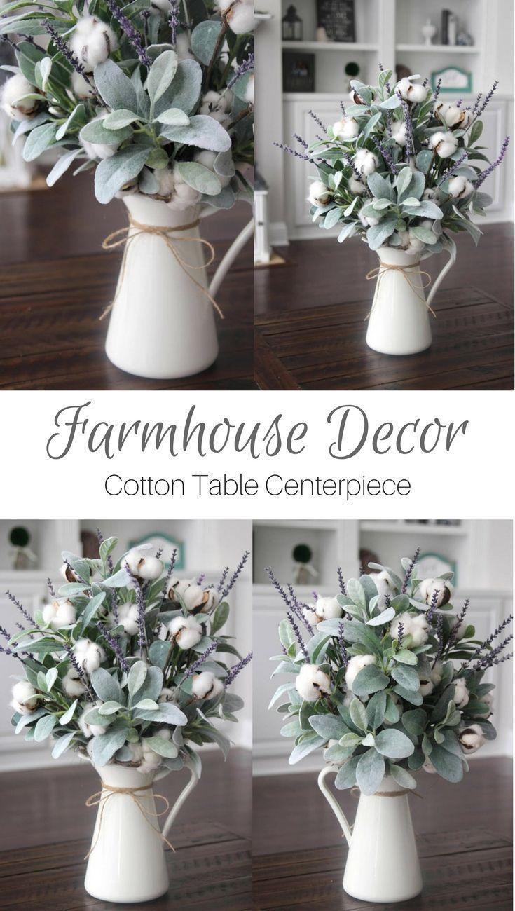 Best Farmhouse Style Cotton Decor Ideas