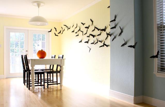Flying Bats Decoration