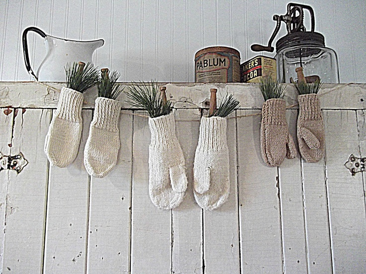 Gloves As Decoration