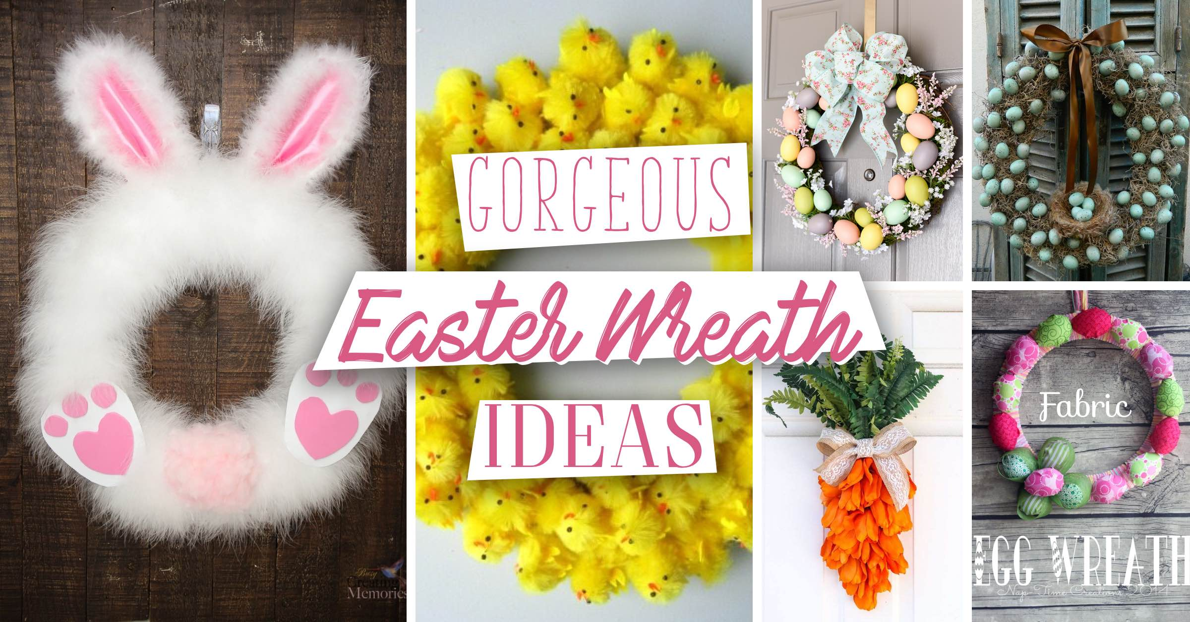 19 Gorgeous Easter Wreath Ideas You Would Love To Work At Home