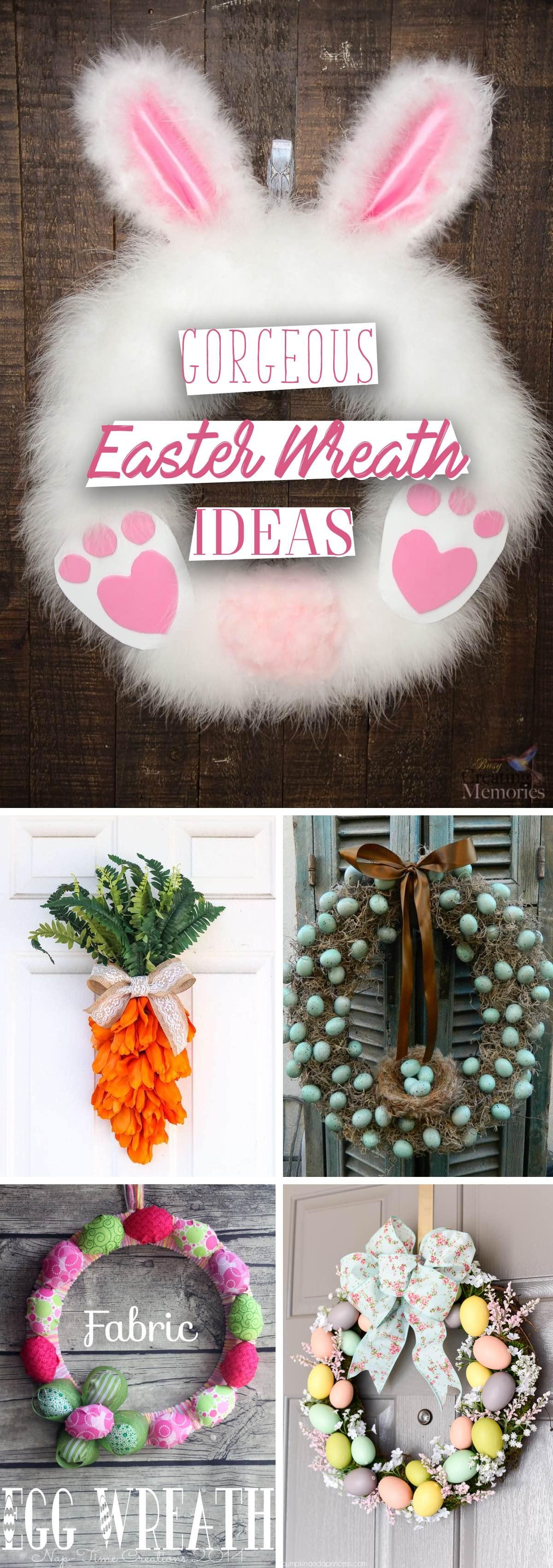 Gorgeous Easter Wreath Ideas