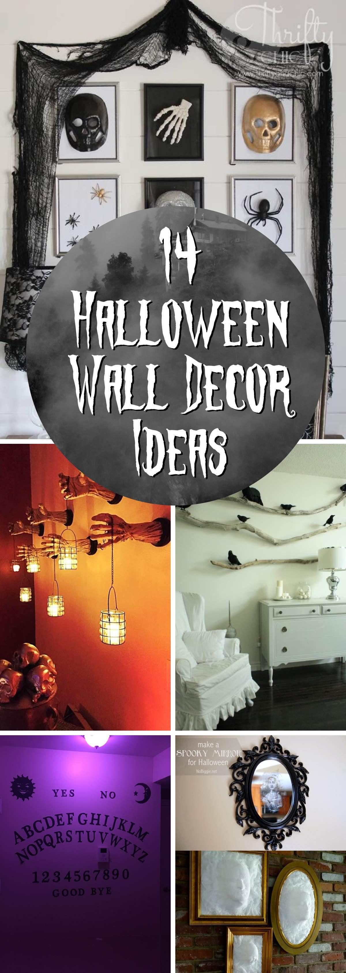 Halloween Wall Decor Ideas