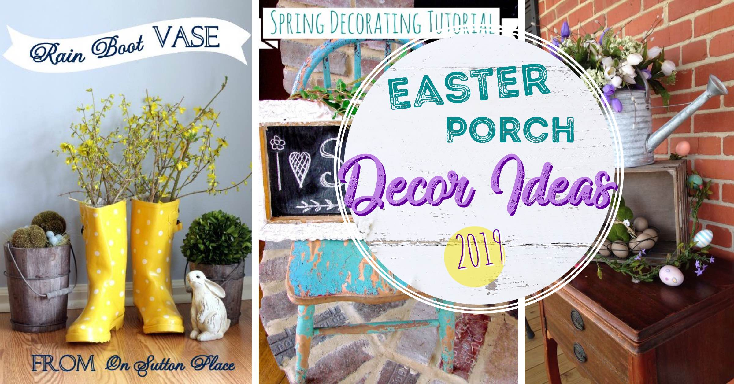 14 Easter Porch Decor Ideas Dressing Up The Space With Some Happiness